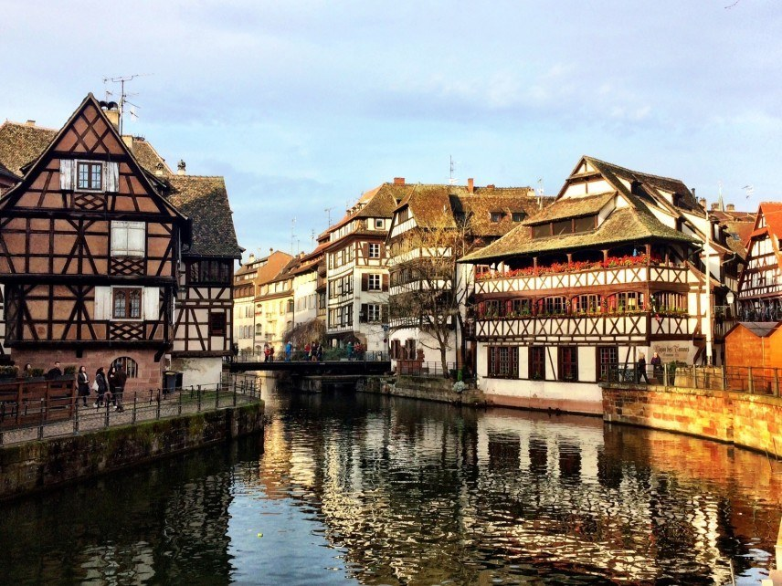 Strasbourg old town